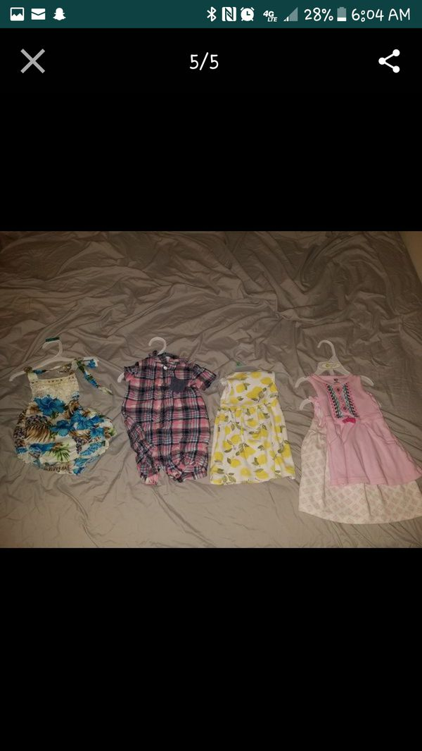 6cb46be18 3 to 6 month baby girl summer clothes for Sale in Virginia Beach, VA ...