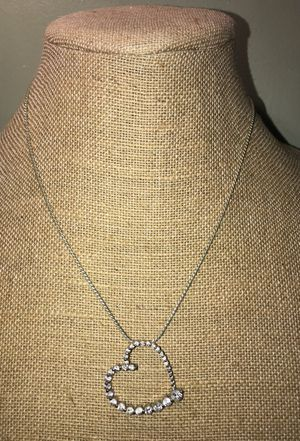 Sophia Velgara Silver and Diamond necklace for Sale in Frederick, MD