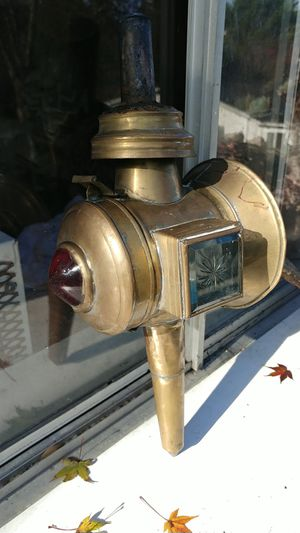 Antique auto lamp for Sale in San Francisco, CA