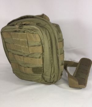 5.11 TACTICAL RUSH MOAB 6 BACKPACK SLING PACK DOUBLE TAP SANDSTONE 1 UNISEX SIZE ADULT for Sale in Fresno, CA