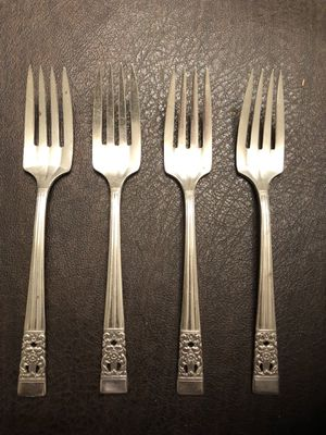 Antique Oneida Community Coronation Salad Forks for Sale in Sully Station, VA