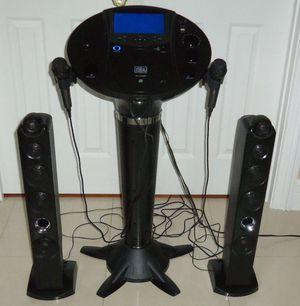 Photo THE SINGING MACHINE ISM1030BT BLUETOOTH KARAOKE PEDESTAL