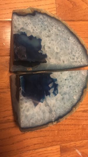 Geode rock book ends for Sale in Alexandria, VA