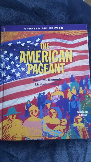 The American Pageant, 16th Edition, for AP United States History Students  for Sale in Rancho Santa Margarita, CA - OfferUp