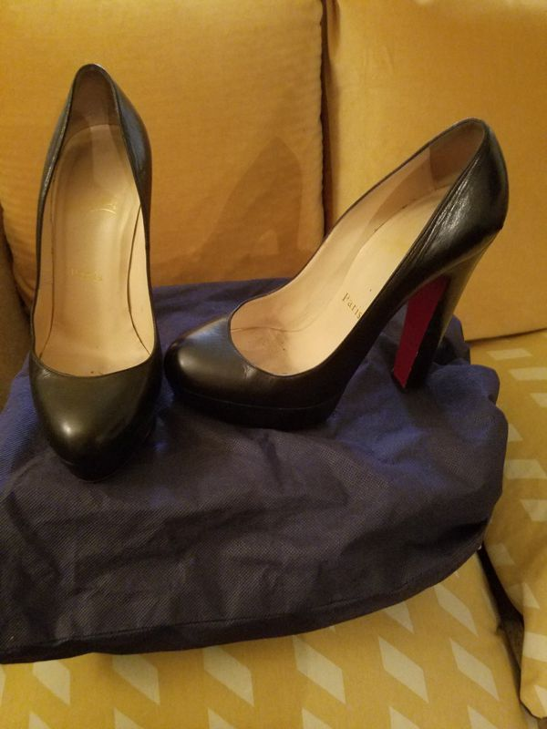 low priced 2bd86 0efb7 High heels, Christian Louboutin, Color black, semi used...good  condition..Size 36 1/2... for Sale in Los Angeles, CA - OfferUp