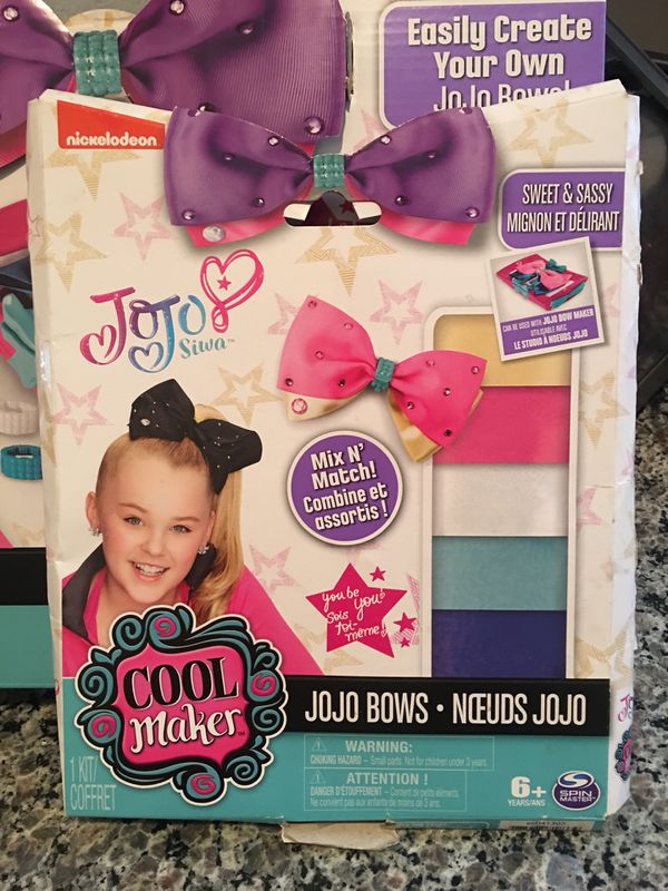 Jojo Bow Maker with Bow sets for Sale in Winchester, CA - OfferUp
