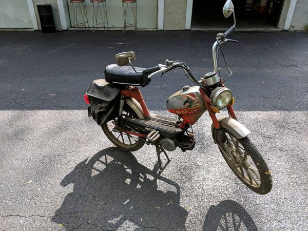 Sachs moped w/title