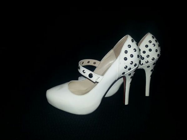 super popular 1cbff 2f408 Christian Louboutin MaryJane Heels size 6 for Sale in Lakeside, CA - OfferUp