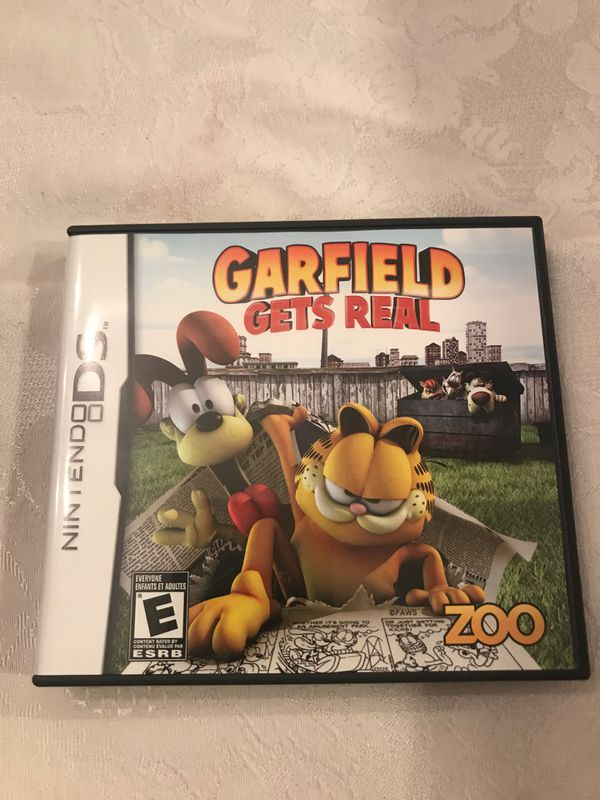 Nintendo Ds Garfield Gets Real Game For Sale In Winter Springs Fl Offerup