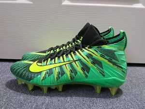 best service 1230a 3ed3e New without box Nike Alpha Menace Elite Green Black Volt Men s Football  Cleats 871519 337 for Sale in Piscataway Township, NJ - OfferUp