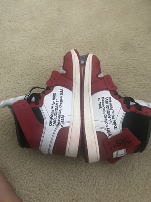 OffWhite jordan 1 for Sale in Manassas, VA