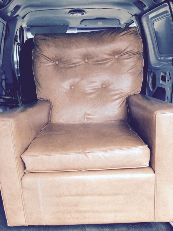 Archie Bunker Chair Vintage Couch Recliner Man Chair For Sale