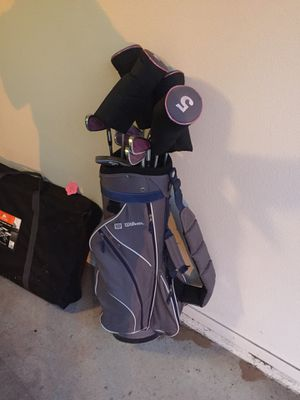 Women's Wilson golf clubs for Sale in Fresno, CA
