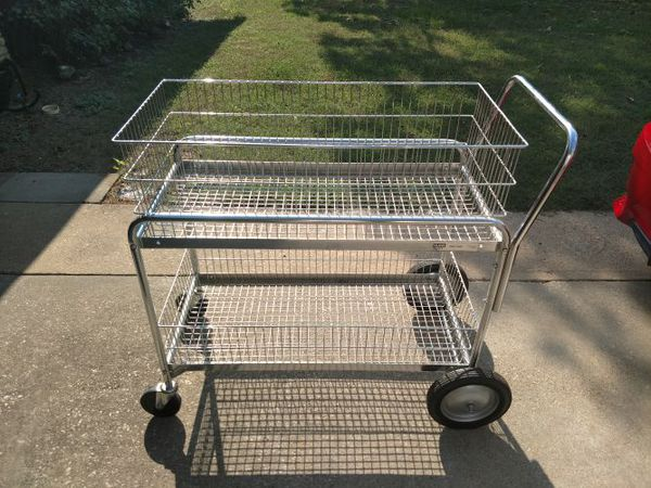 Uline Mail cart for Sale in Denton, TX - OfferUp
