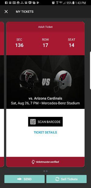 Atl vs Cardinals tonight lower level for Sale in Atlanta, GA