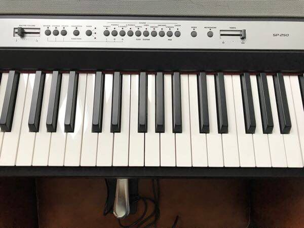 Keyboard piano 88 keys weighted Korg sp250 for Sale in Exton, PA - OfferUp