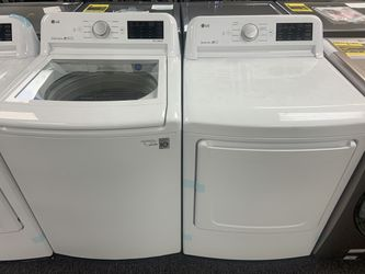 New lg top load washer and dryer Thumbnail