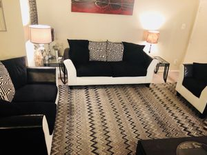 Living room sofa set 3 piece good condition 500$ for Sale in Alexandria, VA
