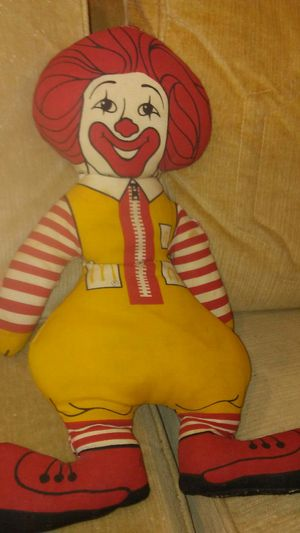 Ronald McDonald 1973 doll for Sale in Pittsburgh, PA