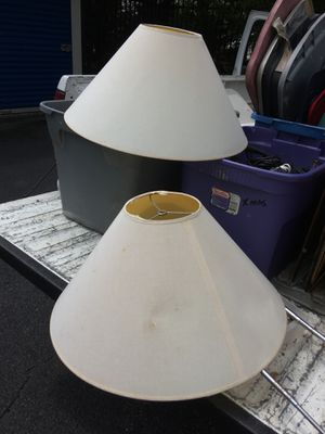 Pair of Table Lamp Shades! for Sale in Midlothian, VA