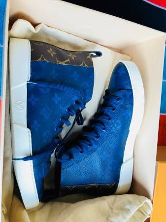 b75aff576422 Louis Vuitton Match-Up Sneaker 1A41AE like new 2018 Model for Sale ...