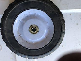 Mower wheel new Thumbnail