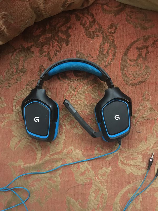 Logitech g430 headphones with usb adapter for Sale in Portland, OR - OfferUp