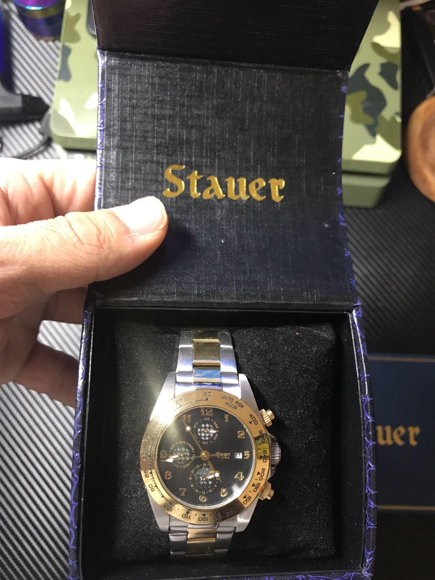 Stauer corso watch