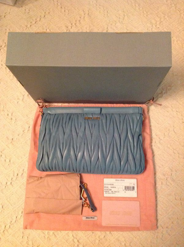84bee4460f62 AUTHENTIC MIU MIU HANDBAG SHOULDER BAG for Sale in ...