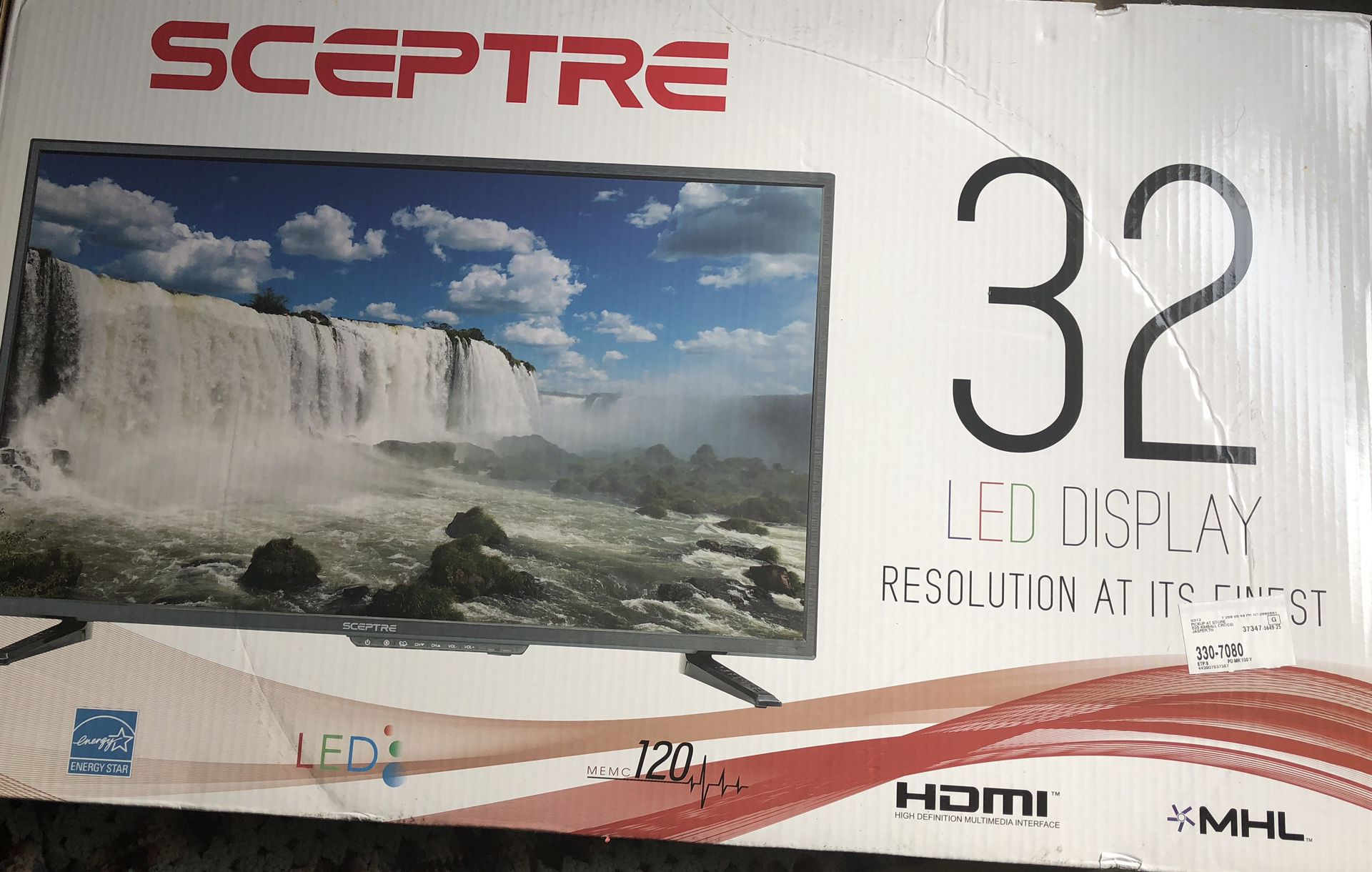32 inch sceptre tv with remote and Logitech z623 speakers with samsung blue ray player