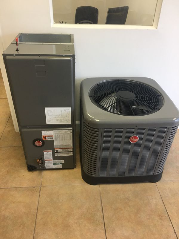 Rheem Air Conditioner New 3 Ton Or Any Size R410 Freon 14 Seer Or