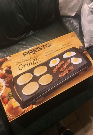 Presto Electric Griddle for Sale in North Potomac, MD
