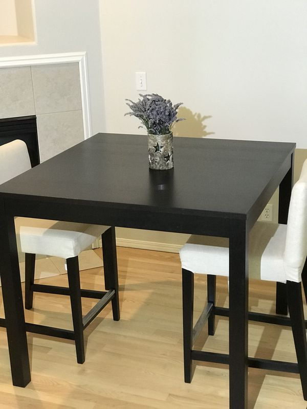 IKEA Norraker Chairs X2 With Washable Covers And Dining Table