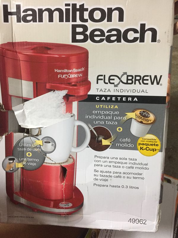 Hamilton Beach Flex Brew Coffee Maker For Sale In Oswego Il Offerup