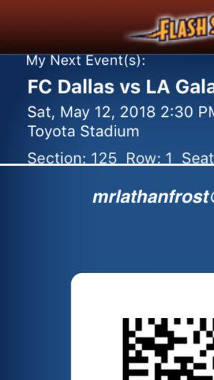 FC DALLAS VS LA GALAXY VIP!!! for Sale in Dallas, TX