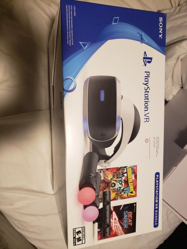 Playstation Vr Bundle No Games For Sale In Orlando Fl Offerup