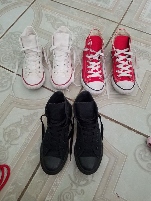 eed24142143d4 Converse All⭐Star size 2 kids (Baby   Kids) in Fresno