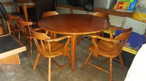 Cushman colonial creation mid century modern dinette and chairs all original for Sale in Longwood, FL