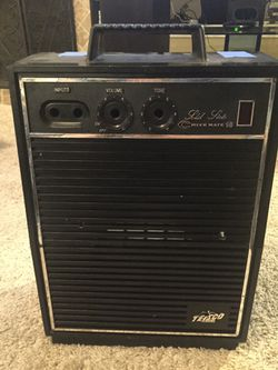 Teisco CM-10 amplifier and electric guitar (please read) Thumbnail