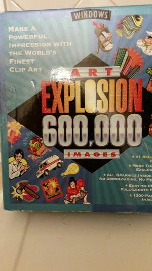 600,000 Clip Art Explosion for Sale in Falls Church, VA