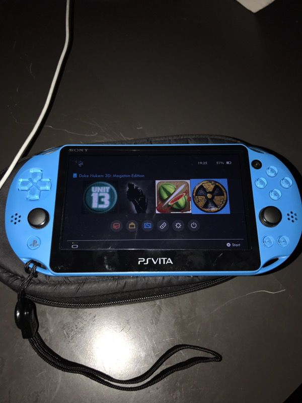 Modded Ps Vita (aqua blue) for Sale in Inglewood, CA - OfferUp