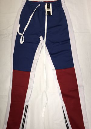 New Color Block Track Pants Sizes: S-XXL for Sale in Marrero, LA