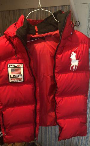 Red polo Ralph Lauren vest medium for Sale in Springfield, VA