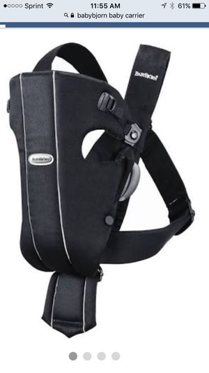 Baby Bjorn baby carrier for Sale in Youngsville, NC