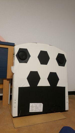 Twin head board w speaker for Sale in Orlando, FL