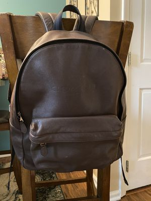 Photo GORGEOUS AUTHENTIC LEATHER COACH BACKPACK