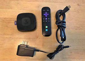 Roku 3 + Remote + HDMI cord + Power cord for Sale in Chicago, IL