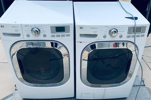 Photo LG Steam Front Load Washer/Dryer Set-PRICE IS FIRM