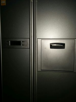 Special for export. ((( 240 voltage )))stainless refrigerator side x side for Sale in Alexandria, VA