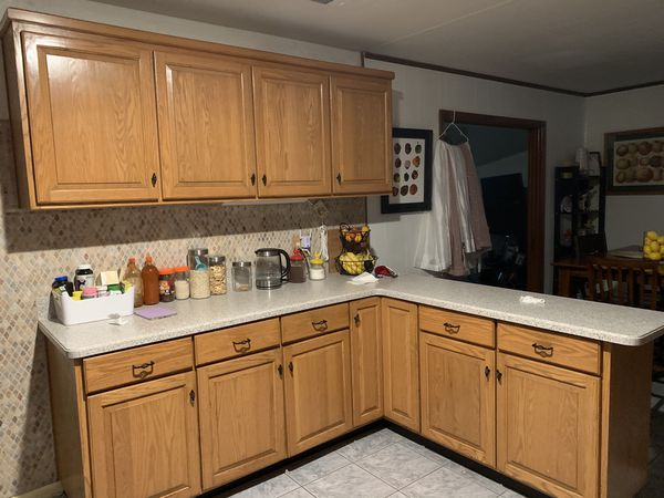 Kitchen cabinets with countertops for Sale in Jacksonville ...